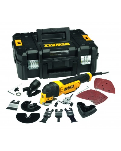 DEWALT DWE315KT MULTITOOL 300W WITH CHUCK AND 12 ACCESSORIES