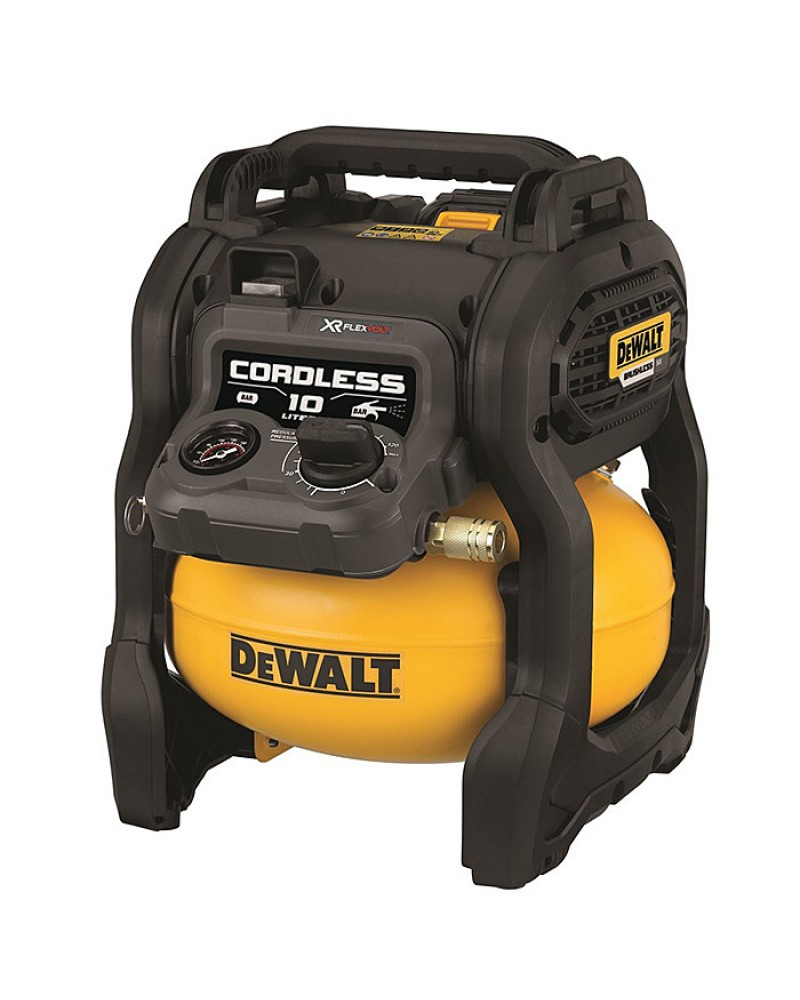 DEWALT 54V XR FLEXVOLT 10L AIR COMPRESSOR INC 2X DCB546 BATTS