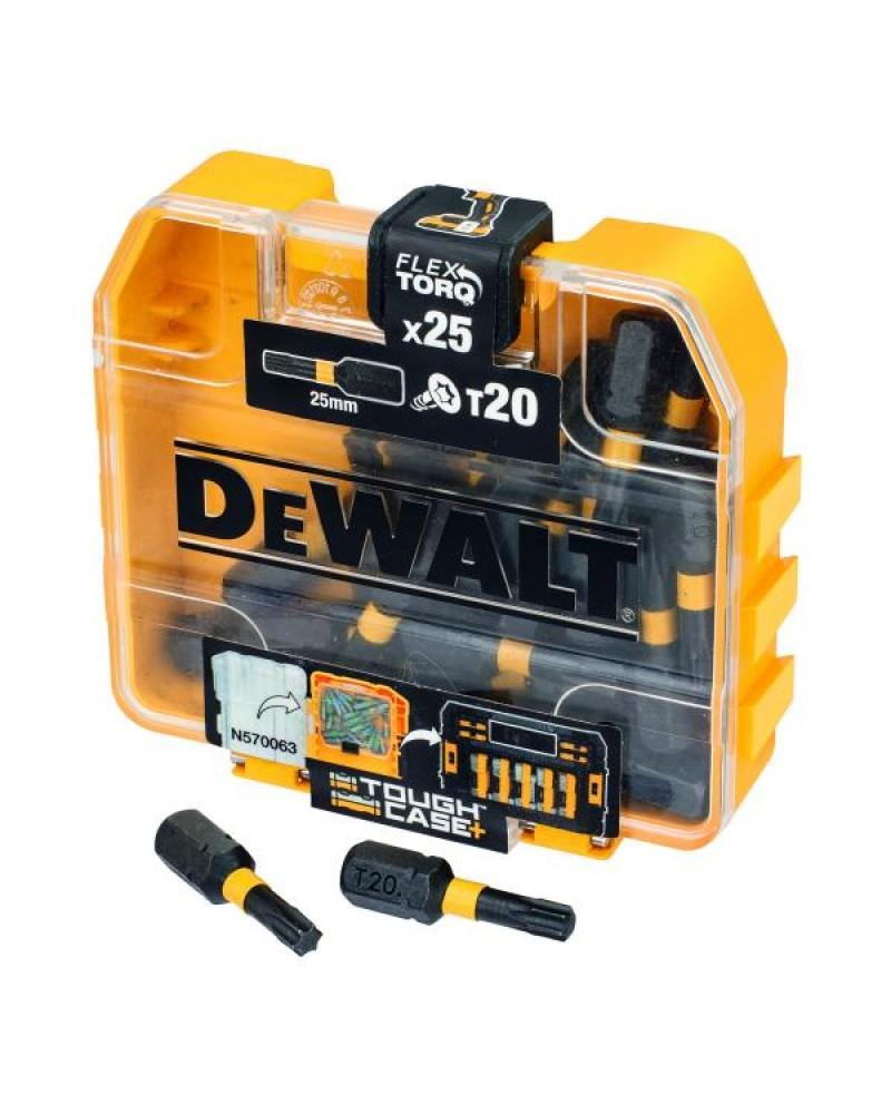 Dewalt Torx Screwdriver Bit 25 (Per Pack) pieces, T20 x 25 mm