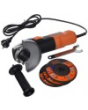 Black&Decker Angle Grinder 900w 115mm + 3discs & kit box
