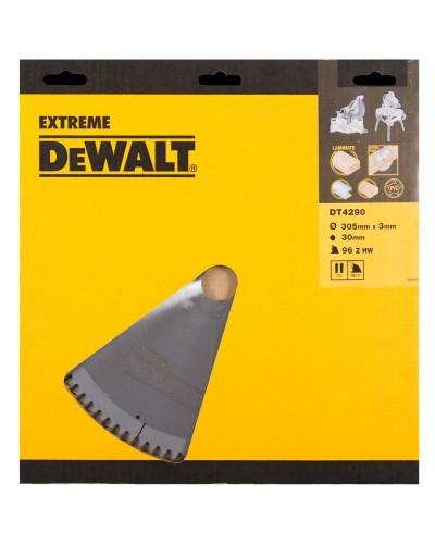 Δίσκος Ξύλου και Αλουμινίου Dewalt 305mm x 30mm x 96 Δοντιών