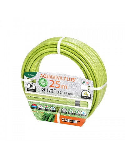 "9004 CLABER Λάστιχο Aquaviva Plus 25m 1/2"" (12-17 mm)"