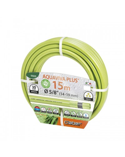 "9005 CLABER Λάστιχο Aquaviva Plus 15m 5/8"" (14-19 mm)"