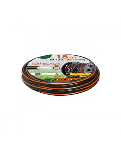 "9037 CLABER Λάστιχο Top-Black 15m Ø 1/2"" (12-17 mm)"