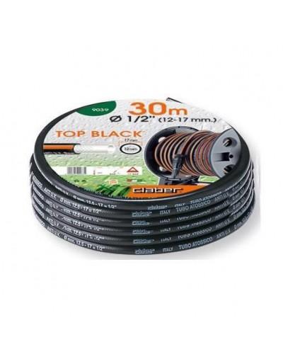 "9039 CLABER Λάστιχο Top-Black 30m 1/2"" (12-17 mm)"