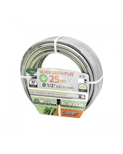 "9060 CLABER Λάστιχο Silver Green Plus 25m 1/2"" (12-17 mm)"