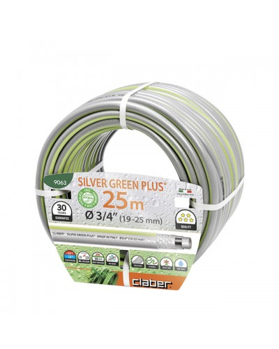 "9063 CLABER Λάστιχο Silver Green Plus 25m 3/4"" (19-25 mm)"