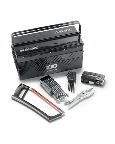 LIMITED EDITION Metalic tool box with 61pc tool kit.