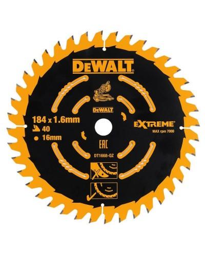 Διαμαντόδισκος DEWALT για DCS365 184X16X1.6mm 40T