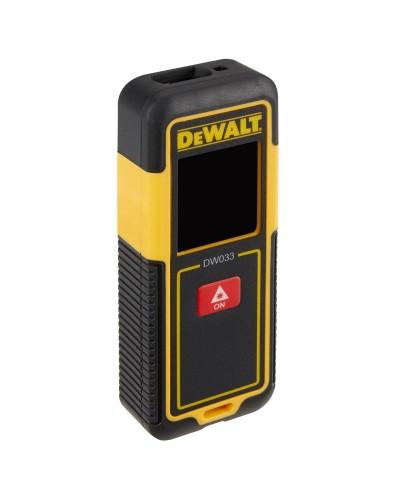 Dewalt DW033-XJ Μετρητής αποστάσεων LASER 30 Μ - Οι μπαταρίες δεν συμπεριλαμβάνονται