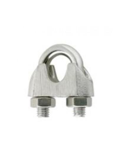 Κλιπς συρματόσχοινου DIN 741 ανοξείδωτο ατσάλι AISI 316